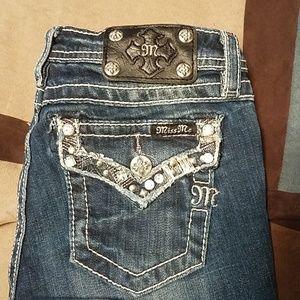 Girl's Miss Me sz 14 jean shorts